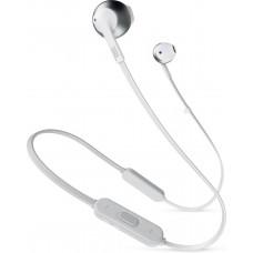 Bluetooth JBL T205BT Silver earphones (GP-U999HAHHOEA)