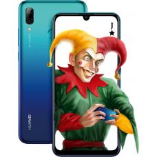 Aurora Blue Smart 2019 Huawei P smartphone