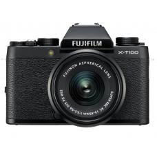 Camera FUJIFILM X-T100 + XC 15-45mm F3.5-5.6 Black (16582892)