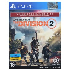 Game Tom Clancy's The Division 2. Washington D.C. Edition [PS4, Russian version]