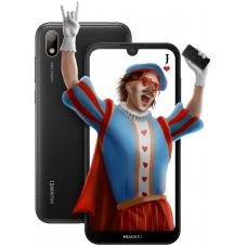 Huawei Y5 2019 smartphone (AMN-LX9) Black Faux Leather
