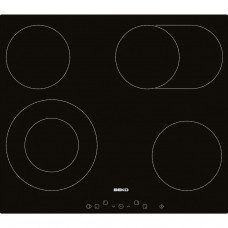 Cooking surface of Beko electric HIC64403T
