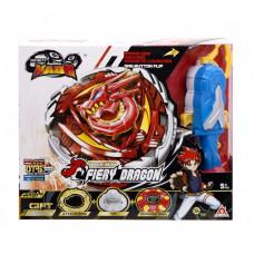 Top of Auldey Infinity Nado V Advanced Fiery Dragon series Fiery Dragon (YW634402)