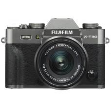 Camera FUJIFILM X-T30 + XC 15-45mm F3.5-5.6 Charcoal Silver (16619401)