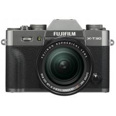 Camera FUJIFILM X-T30 + XF 18-55mm F2.8-4R Charcoal Silver (16620125)