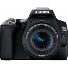 CANON EOS camera 250D 18-55 IS STM Black (3454C007)