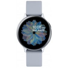 Aluminium Silver Samsung Galaxy Watch Active 2 44mm smartwatch