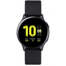Aluminium Black Samsung Galaxy Watch Active 2 40mm smartwatch