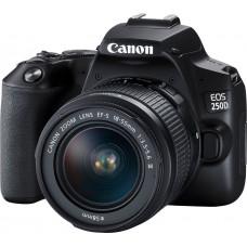 CANON EOS camera 250D 18-55 DC III Black (3454C009)