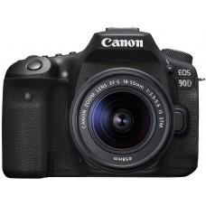 CANON EOS camera 90D + 18-55 IS STM (3616C030)