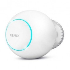 Clever thermohead of Fibaro Heat Controller Z-Wave Li-Ion, White (FGT-001_ZW5)