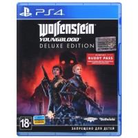 Game Wolfenstein: Youngblood. Deluxe Edition (PS4, Russian subtitles)