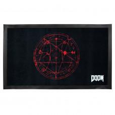 Doom Pentagram floor mat (GE3326)