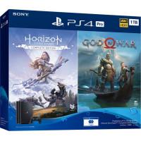 Game console SONY PlayStation 4 Pro 1Tb Black (God of War + Horizon Zero Dawn CE) (9994602)
