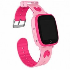 Children's watch phones with the GPS GOGPS ME K14 tracker pink (K14PK)