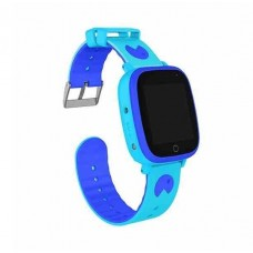 Children's watch phones with the GPS GOGPS ME K14 tracker blue (K14BL)