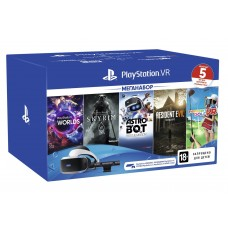 Glasses of virtual reality SONY PlayStation VR MegaPack (5 games in a set) (9998600)