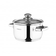 Ardesto Gemini pan with a nose for draining of 2.5 l (AR2825CS)