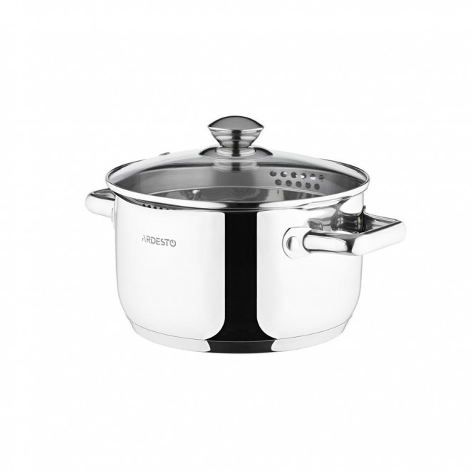 Ardesto Gemini pan with a nose for draining of 3.6 l (AR2836CS)