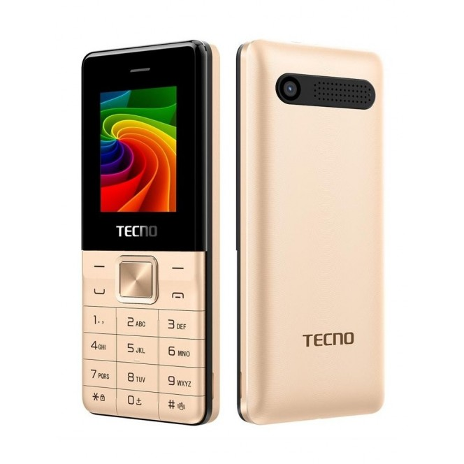 Tecno T301 DS Champagne Gold mobile phone