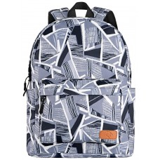Backpack 2E TeensPack Absrtraction Gray