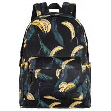 Backpack 2E TeensPack Bananas Black