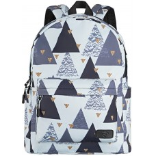 Backpack 2E TeensPack Triangles White