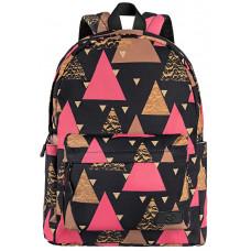 Backpack 2E TeensPack Triangles Black
