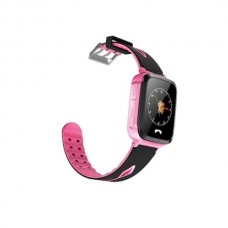 Children's watch phones with the GPS GOGPS ME K13 tracker pink (K13PK)