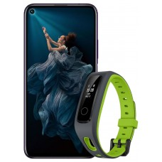 Honor 20 Pro Phantom BlackFitnes-bracelet Honor Band 4 Running smartphone as a gift