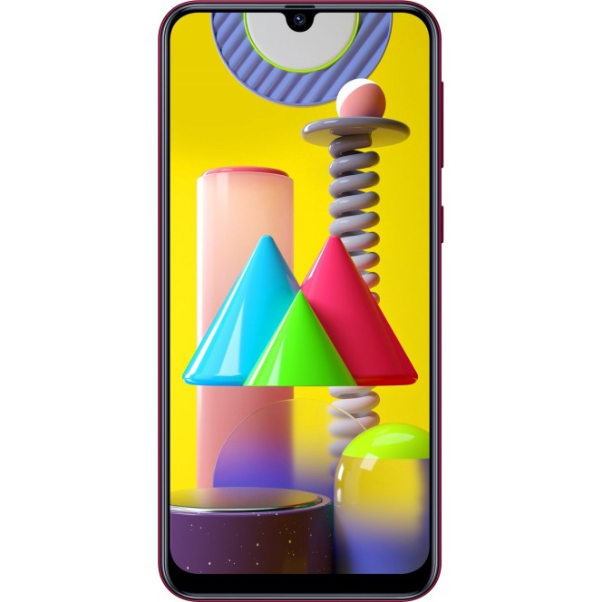 Samsung Galaxy M31 M315F Red smartphone