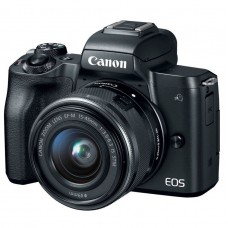 CANON EOS M50 camera + 15-45 IS STM + 22mm f/2.0 STM (2680C055)