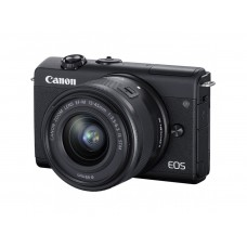 CANON EOS M200 camera + 15-45mm IS STM Black (3699C027)