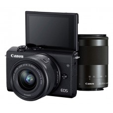 CANON EOS M200 camera + 15-45 IS STM + 55-200 IS STM (3699C030)