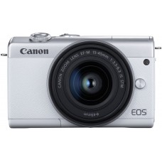 CANON EOS M200 camera + 15-45mm IS STM White (3700C032)
