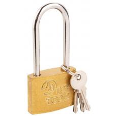 Hinged Top Tools lock, long handle, 50 mm, 2 keys