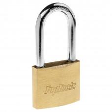 Hinged Top Tools lock, long handle, 40 mm, 2 keys