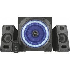 Trust 2.1 GXT 688 Torro Illuminated BLACK speaker system