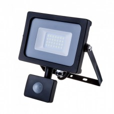 Searchlight street LED V-TAC, SKU-452, Samsung chip, sensor to Rukh 20W, 230V, 4000K, chorny (3800157631082)