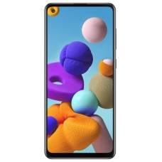 Samsung Galaxy A21s Black smartphone