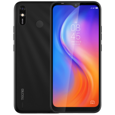 TECNO Spark 4 Lite smartphone (BB4k) 2/32Gb DS Midnight Black