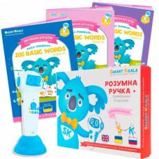 Interactive Smart Koala handle + Book Interactive Smart Koala English (1, 2, 3 season) (SKS0123BW)