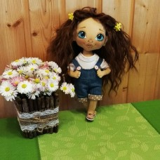 They are looking for mum textile dolls. Height 25 cm