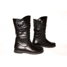 Leather boots on fur, from the manufacturer. Dimensions 36 to 42. Wholesale from 5 pieces less for $ 5