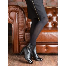 Women's autumn boots. Genuine Leather