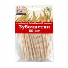 Toothpicks 50 pcs in  packaging, Linpac. Free shipping