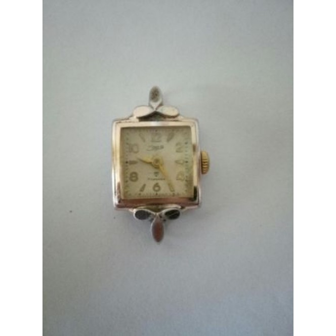 Rare female gold-plated watches of the era of the 50's 17 stones