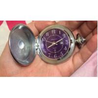 Rare Pocket Watch Zipper USSR