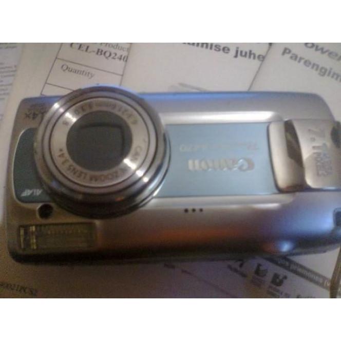 Canon digital camera a407