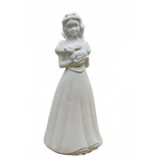 Art-Deco-Princess Snow White. Model Hand Made in Gypsum Plaster